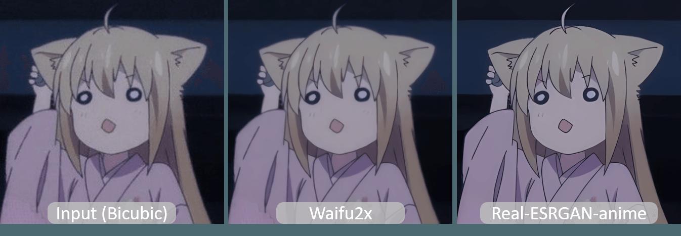 果核图片AI放大工具 v1.0 效果可与Waifu2比较-好软库